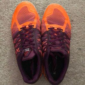 Reebok Speed Crossfit shoes sneakers orange